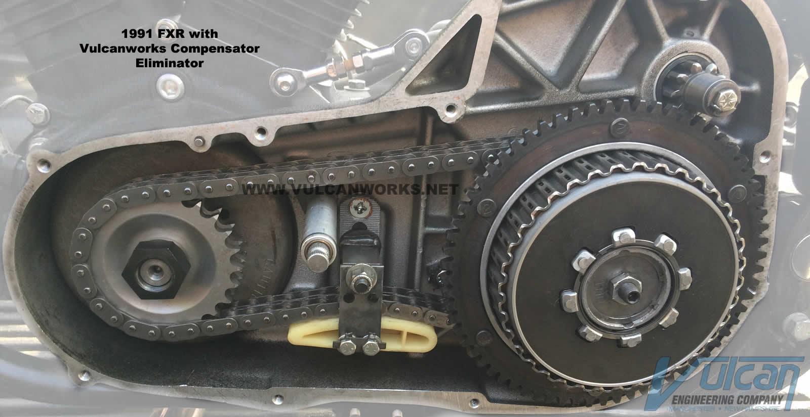 Compensator Eliminator, 25 Tooth, 1994-06 Big Twin :: Motor