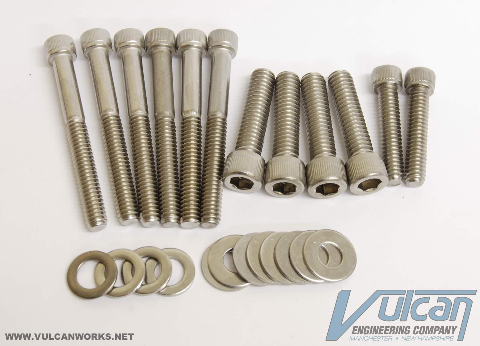 Transmission Support Bolt Kit- Stainless Steel- 5 Speed Big