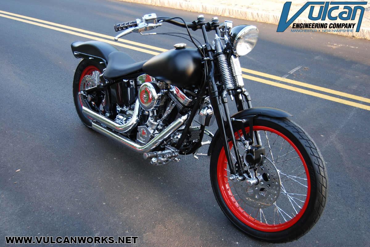 Harley Davidson Softail Oem Neck Rake