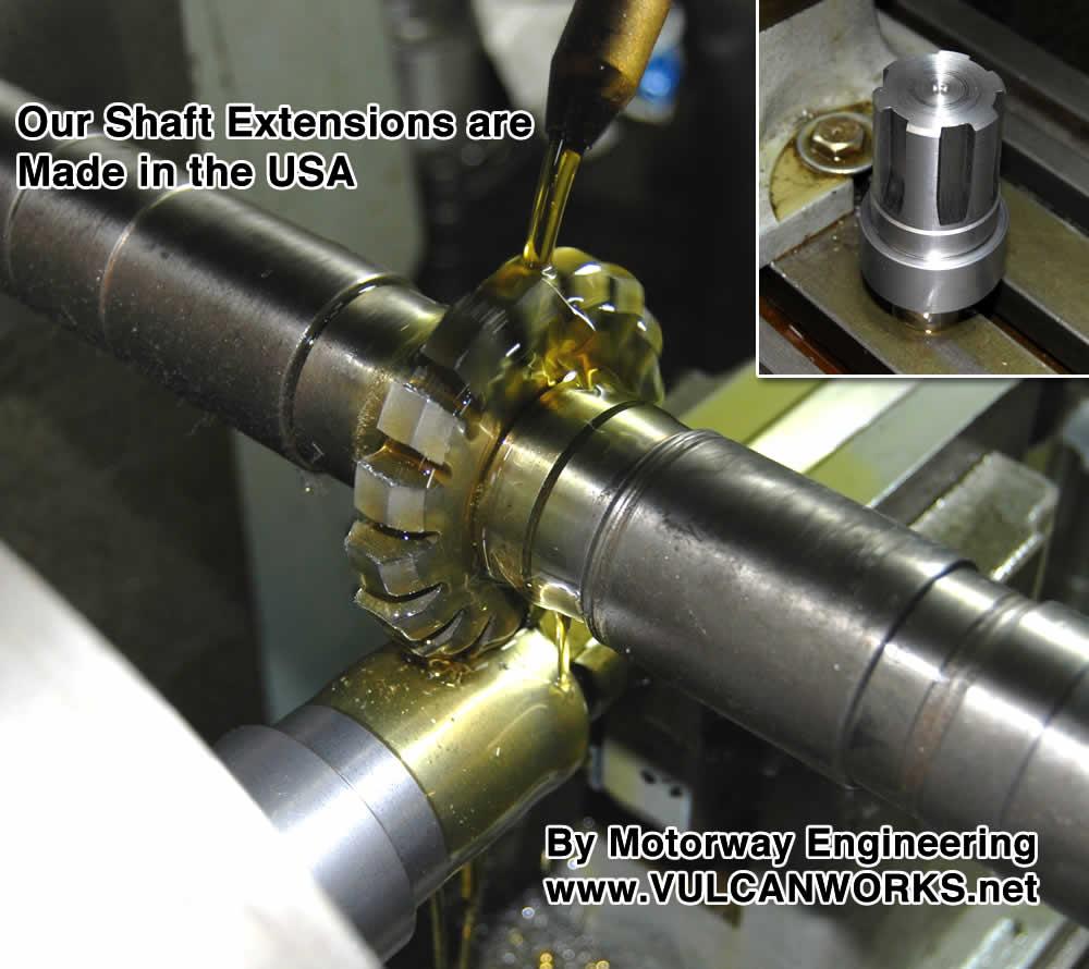 Shaft Extension 1 1 4 Quot Offset Motor Sprockets Amp Shaft