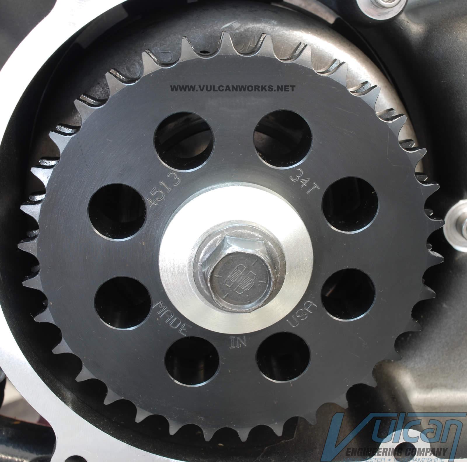 Compensator Eliminator Chain Sprocket Engine Motor Harley Touring Softail Dyna