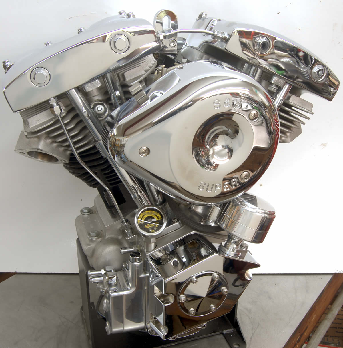93 Ci  Shovelhead Engine With Distributor    Engines