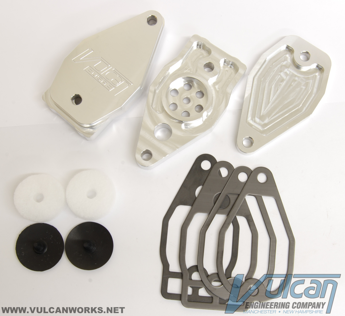 Twin Cam Rocker Box Breather Set / PCV Valve Housing :: Twin