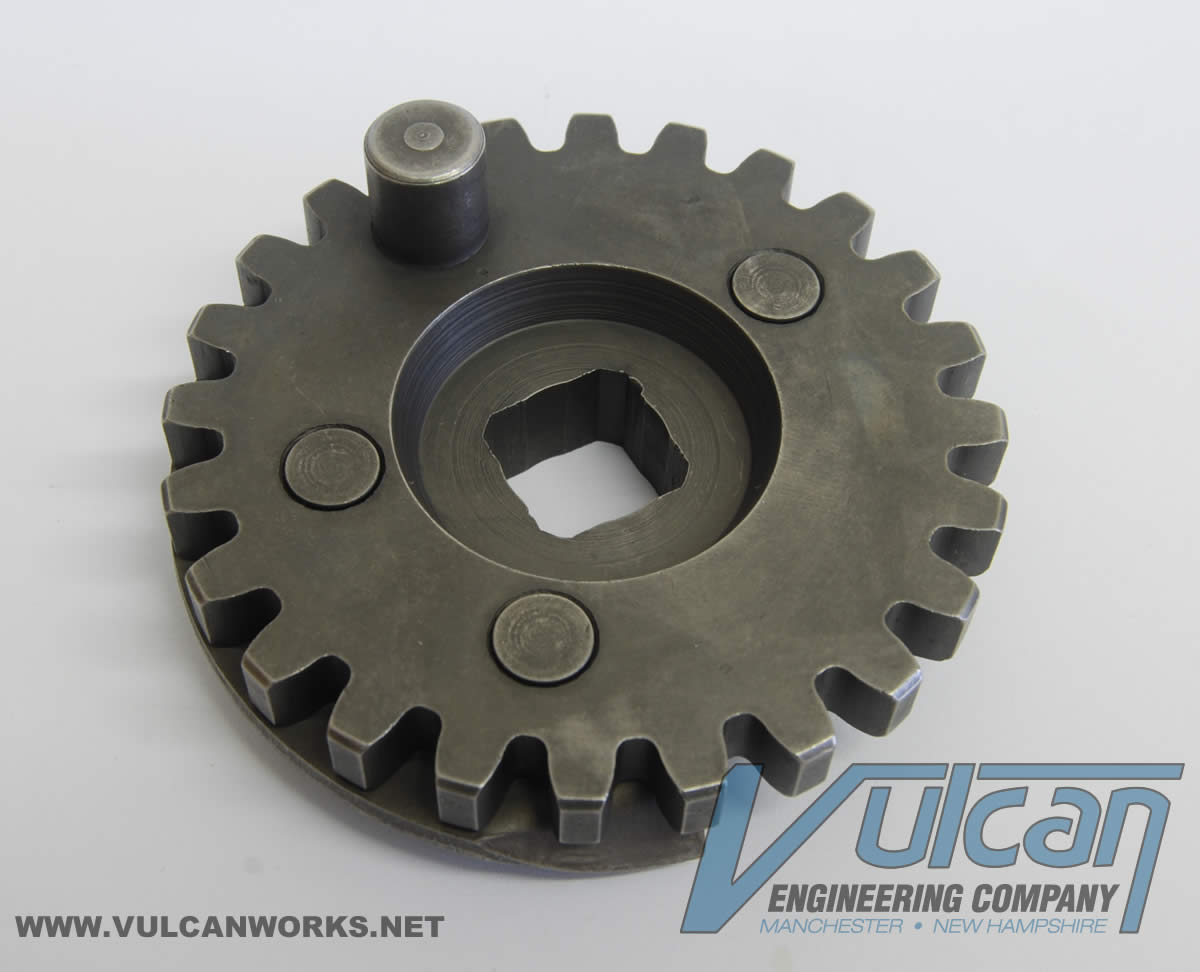 Kick Starter Crank Gear, Big Twins, 33350-36