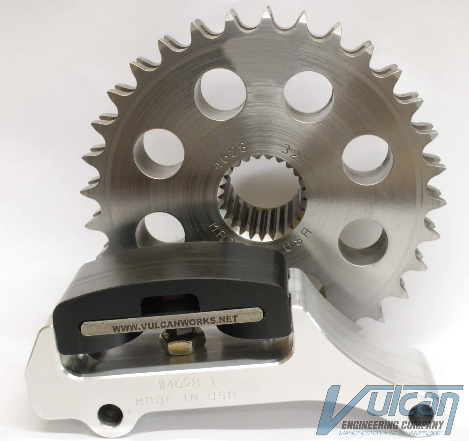 32 Tooth Motor Sprocket and Adjuster Kit for Twin Cam