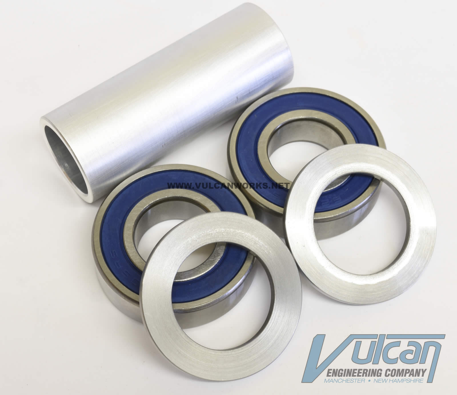 """25mm Bearing Conv. for 1"""" & 3/4"""" Wheels to 2008-up XL Front Ends"""