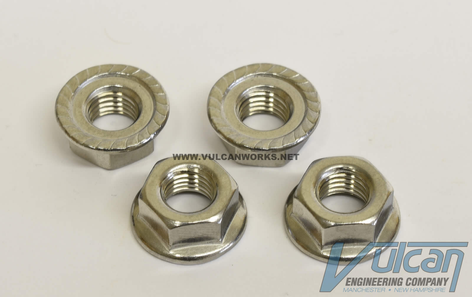 Exhaust Flange Nut Set, Stainless Steel