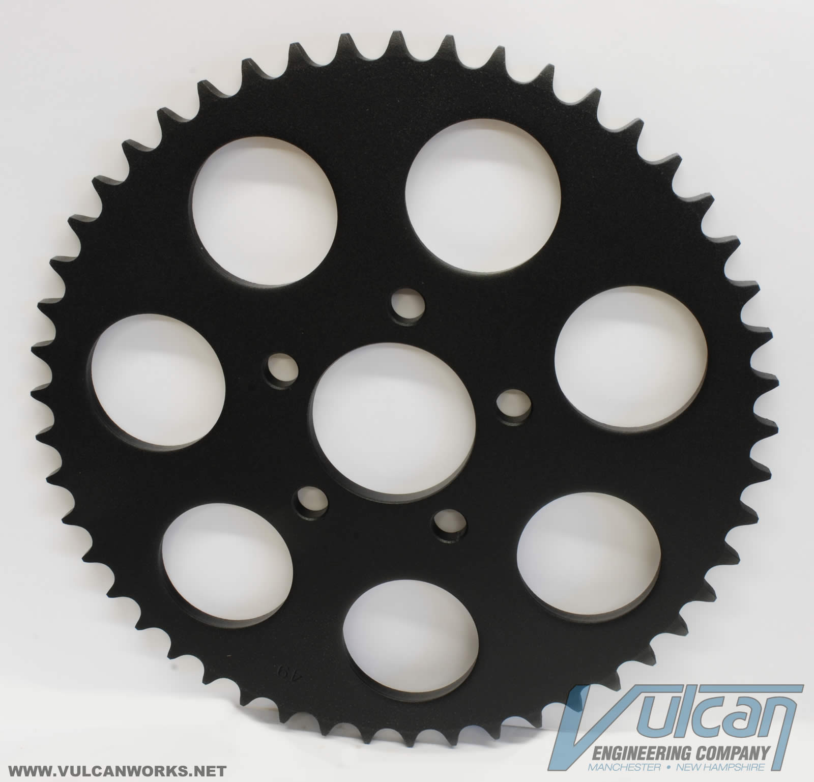Black Rear Sprocket, 51 Tooth