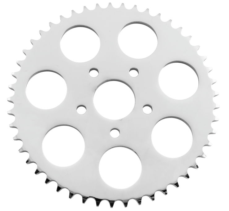 1973-2019 Chrome Rear Sprockets, All Tooth Sizes