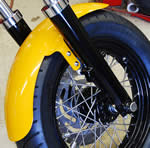 "16"" Front Fender For 41mm FLST Style legs"