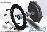Cush Drive Hub and Sprocket Only