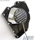 Twin Cam Ignition Conversion Kit, Round Outer Cover, Black
