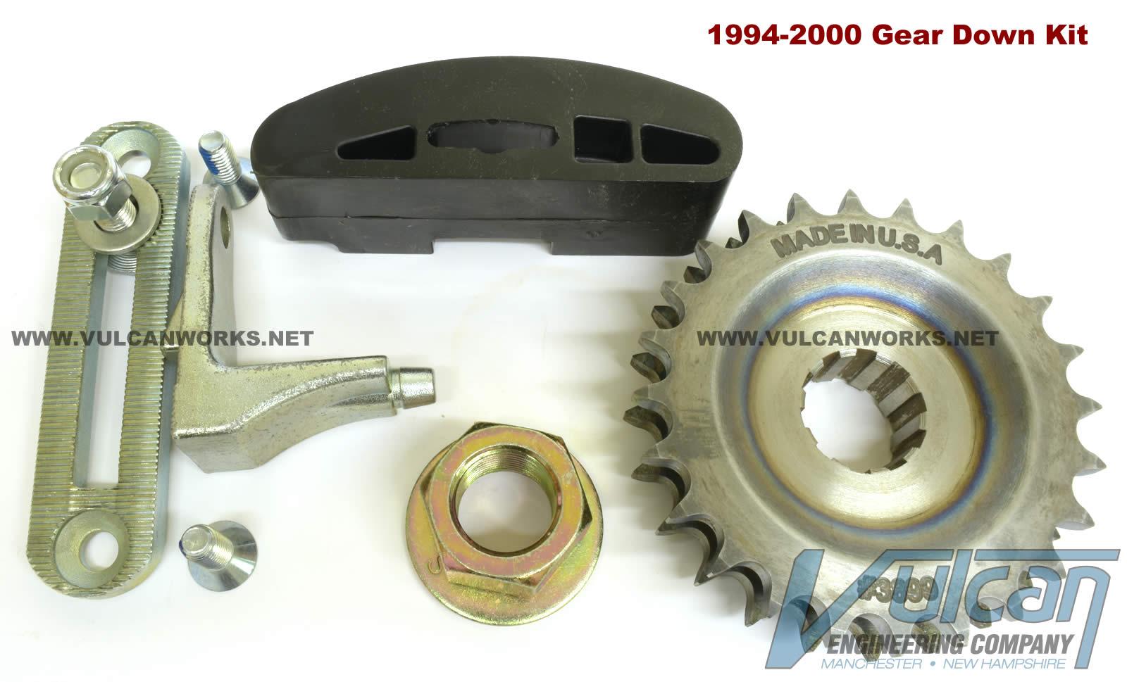 24T Compensator Eliminator Gear Down Kit for 1994-06 Bikes